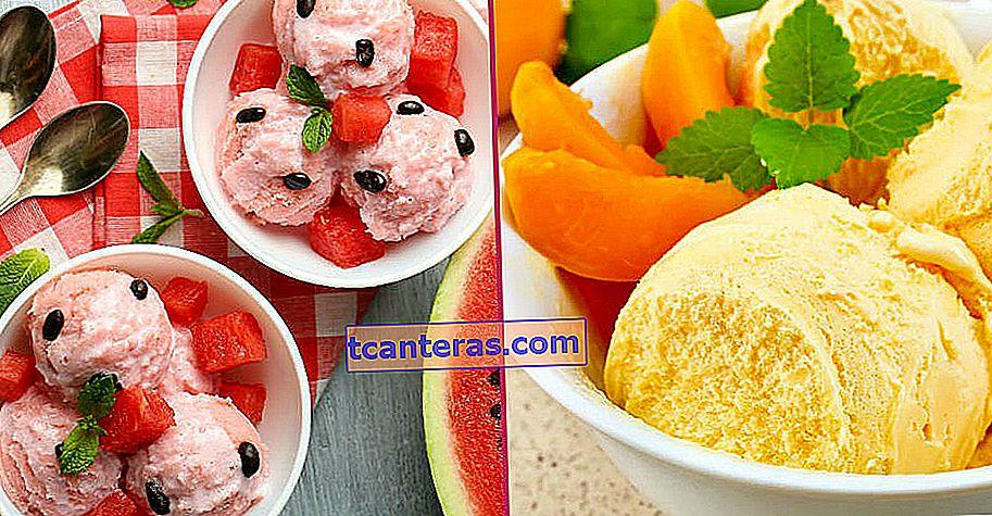 10 recetas de helado con sabor a fruta garantizadas para enfriar fácilmente en casa