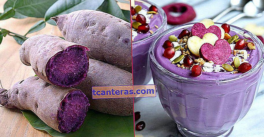 Супер їжа, яка порадує вас своїм кольором і здивує своїми перевагами: Фіолетовий картопля (Ube)