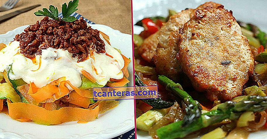 11 recetas prácticas y ligeras especiales para quienes saborean la ligereza en la cena