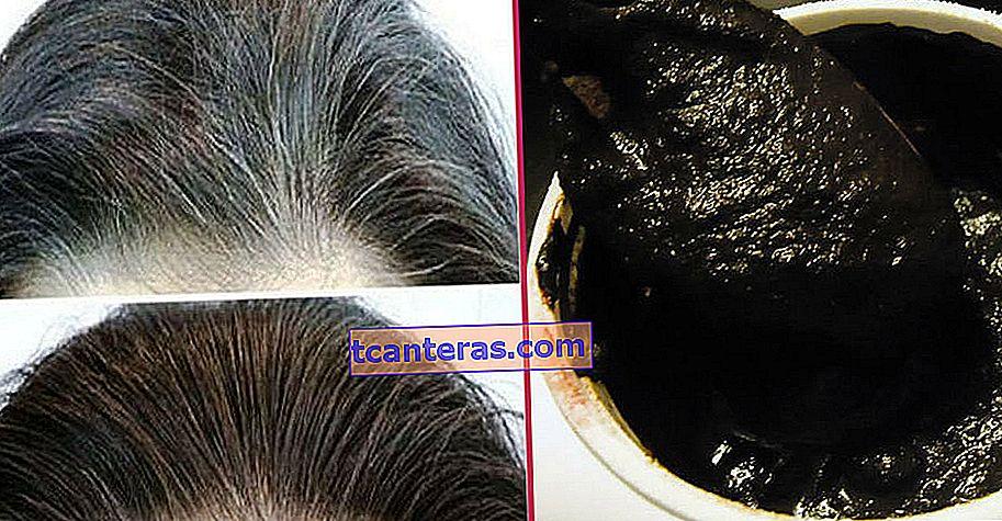 Натуральна суміш двох матеріалів, яка дозволить вам швидко попрощатися з білим волоссям