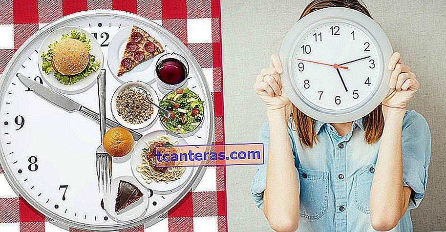 Cuando en realidad importa, no lo que comes: nutrición circadiana