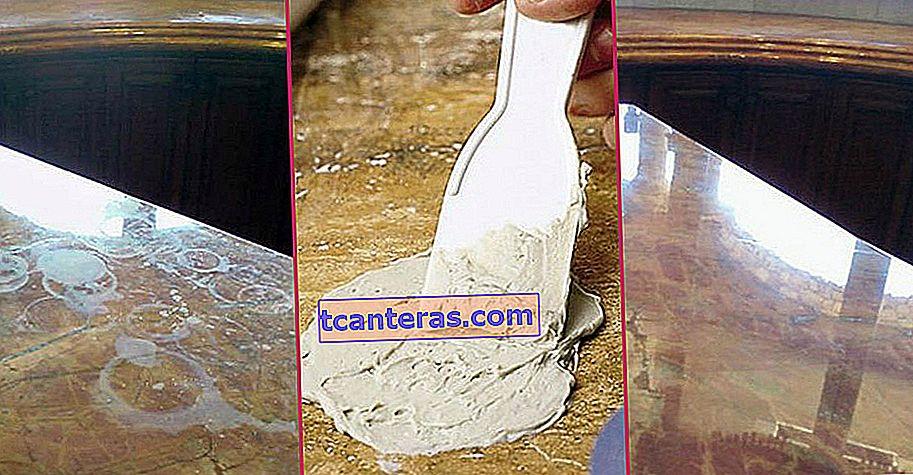 ¿Cómo limpiar encimeras de cocina manchadas y amarillentas fácilmente con unos pocos materiales?