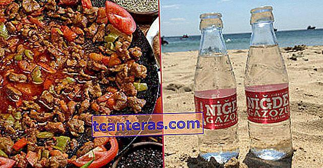 15 sabores de Niğde, que tiene mil abundancia en su interior