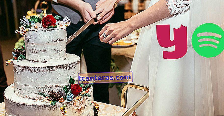 La lista de Spotify para compartir los momentos de pareja más deliciosos: pastel de bodas