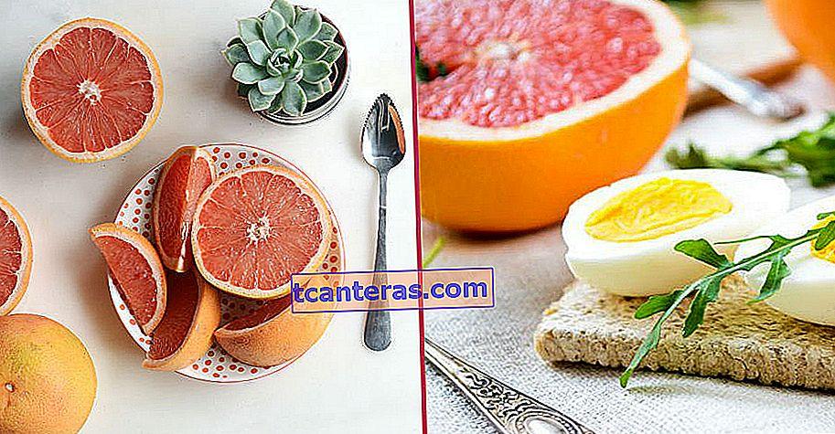 Dieta a base de vitamina C que se dice que pierde 5 de peso en 10 días: la dieta de la toronja