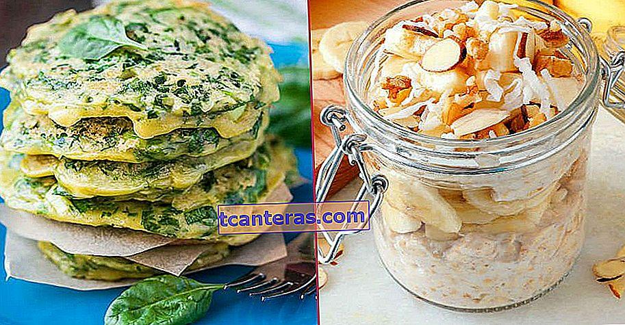 20 recetas de desayuno saludables y diferentes garantizadas para comenzar el día a la ligera
