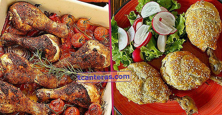 10 recetas diferentes y deliciosas que por lo menos duplicarán su disfrute del muslo de pollo