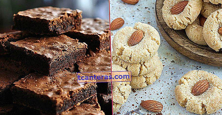 23 recetas de postres que siempre pensará que están hechas con harina pero deliciosas sin harina