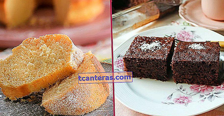8 recetas de pasteles fáciles que puedes hacer con los ingredientes que se encuentran en todas las cocinas sin problema