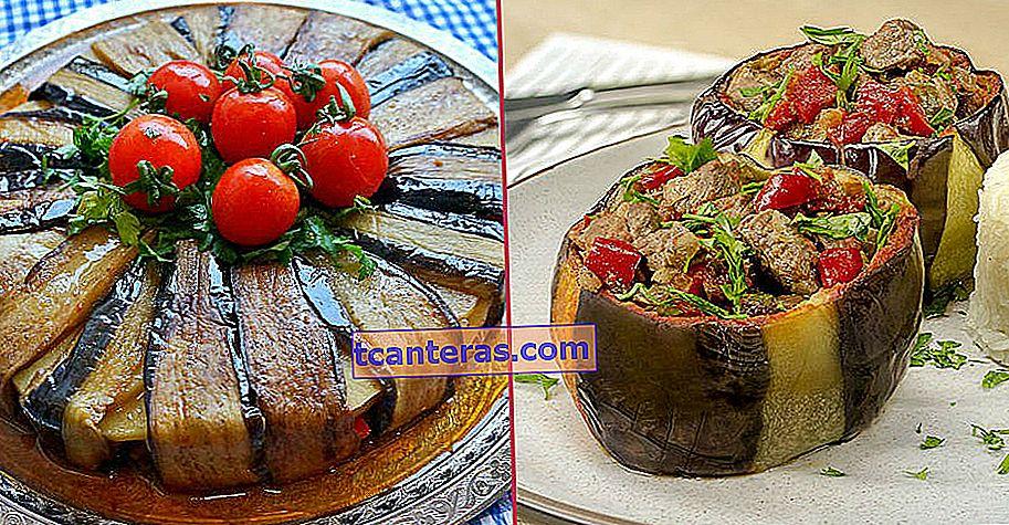 17 deliciosas recetas hechas con berenjena que la cocina turca no se perdería sin ella
