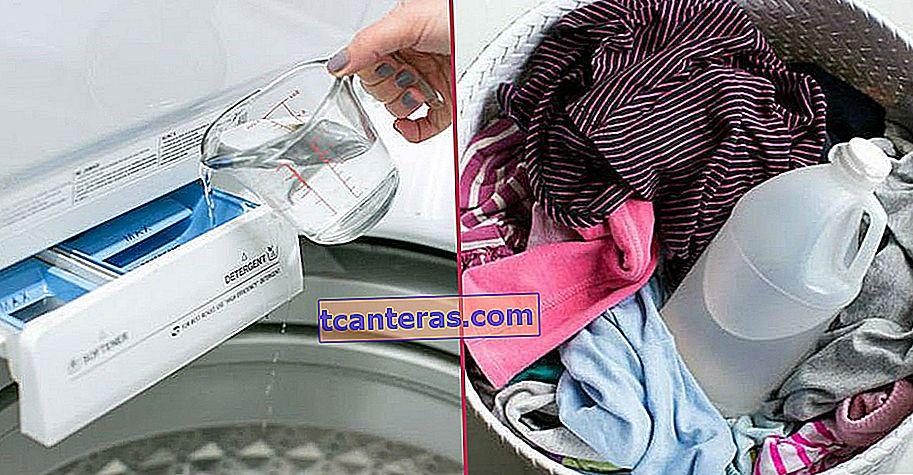 ¿Por qué debería verter vinagre blanco en la máquina mientras se lava?
