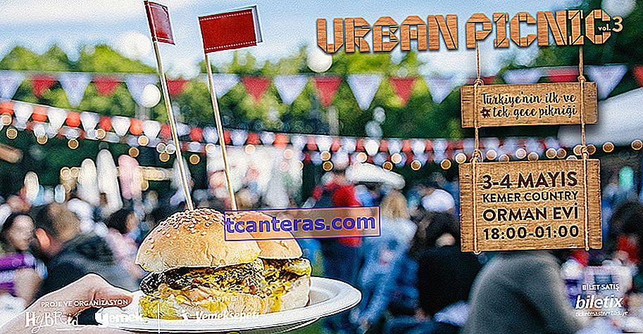 3 veces con nosotros: ¡Picnic urbano de primera noche en Turquía del 3 al 4 de mayo en Kemer Country!