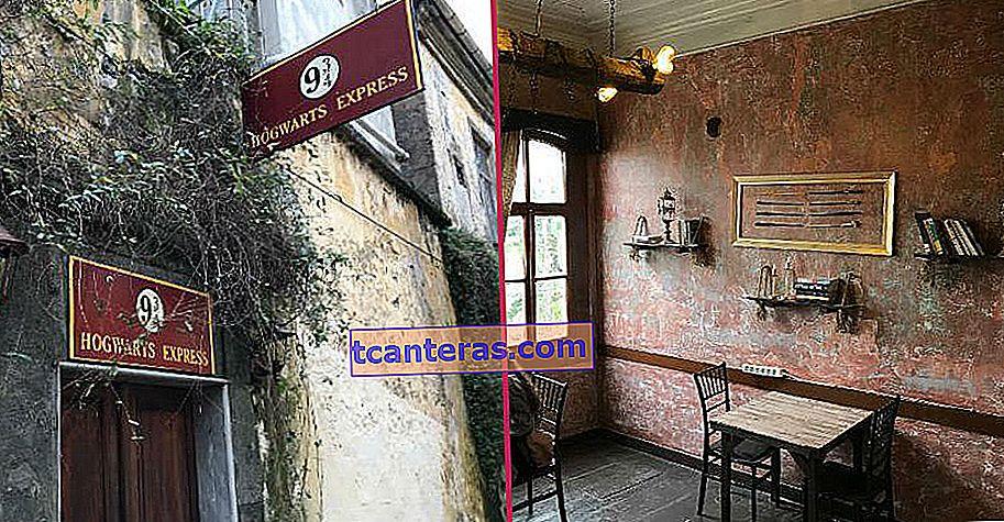 Ofrecido en Trabzon, el primer concepto de jaula de Turquía Harry Potter: Hogwarts Express