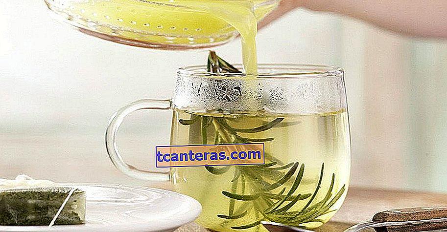 El sabor curativo que desea preparar y beber todos los días una vez que se da cuenta de sus efectos: té de romero