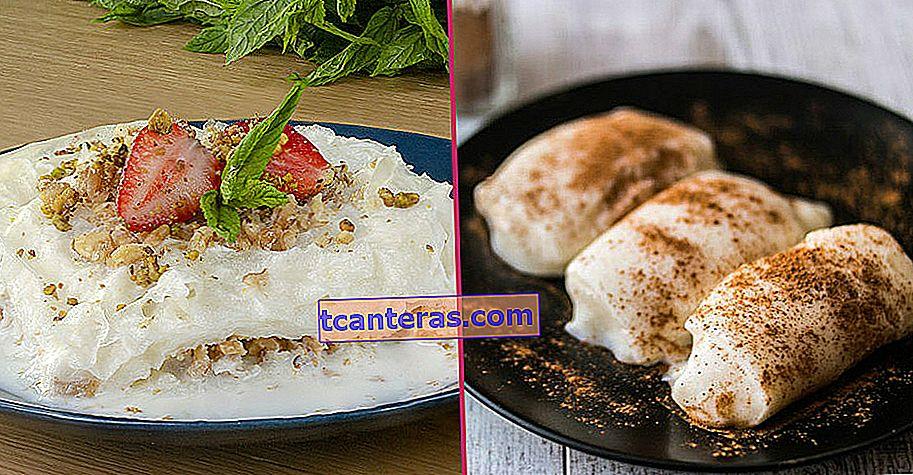 16 recetas de postres ligeros para aquellos que no quieren cansar demasiado su estómago en Iftar