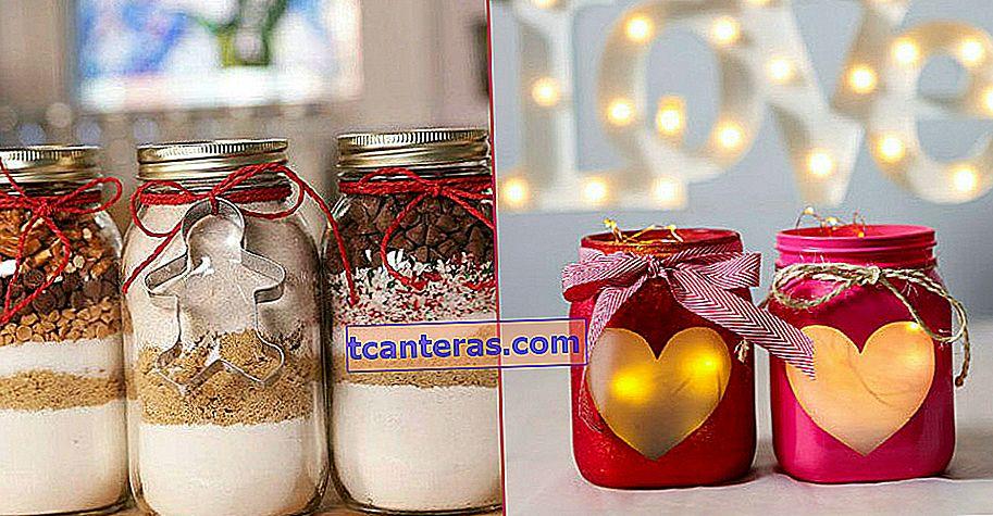 13 чарівних подарунків на день закоханих, зроблених легко за допомогою баночки