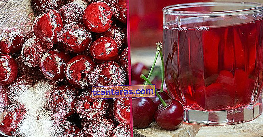 Fabricación de botellas, una bebida fresca: ¿Cómo hacer jugo de cereza agria?