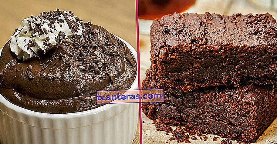 10 легких і корисних рецептів десертів для тих, хто не хоче відмовлятися від шоколаду, перебуваючи на дієті