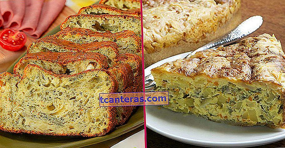 10 deliciosas y abundantes recetas de pasteles de desayuno para reemplazar el pan en la mesa del desayuno