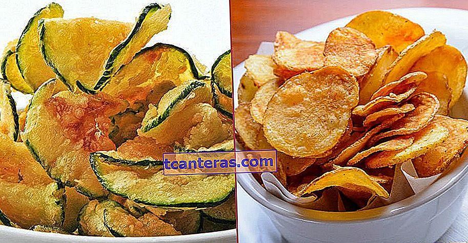 10 recetas diferentes de patatas fritas crujientes que puedes hacer con tus propias manos