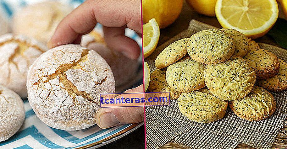 9 recetas de galletas de limón con sabor que quieres probar todos los días