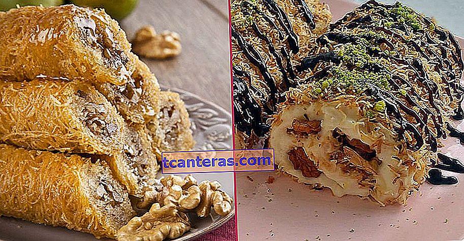 10 deliciosas recetas de postres que te harán perderte en el crujiente de Kadayıf