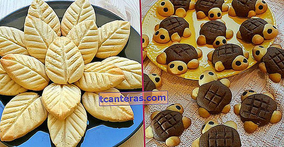 12 recetas de galletas de diferentes formas que los niños que roban corazones con su apariencia también adorarán