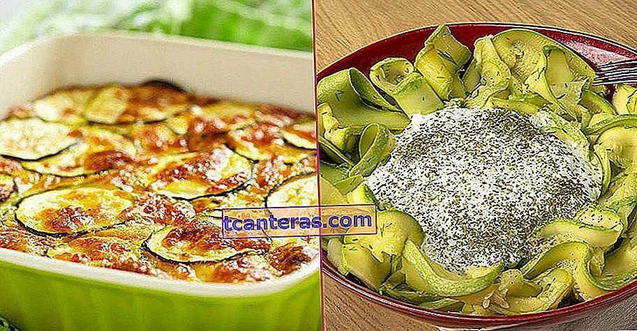 23 recetas diferentes que te ayudarán a llenar tu mesa con calabacín, la verdura más favorita