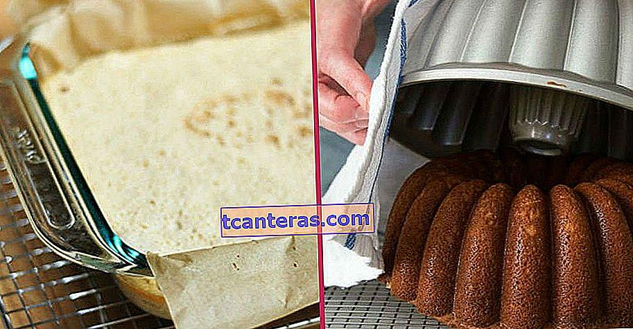 Tanta labor nunca se desperdiciará de nuevo: ¿qué hacer si un pastel no está fuera del molde?