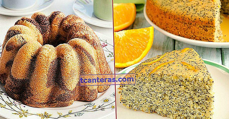 12 recetas diferentes de pasteles de algodón que se hinchan como bocanadas una vez que lo pruebas