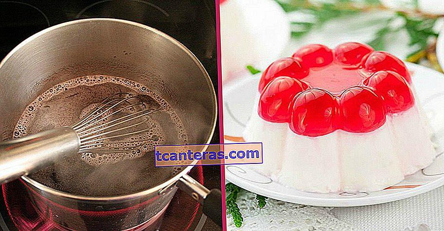 Con solo tres ingredientes, sin gelatina: cómo hacer gelatina paso a paso en casa