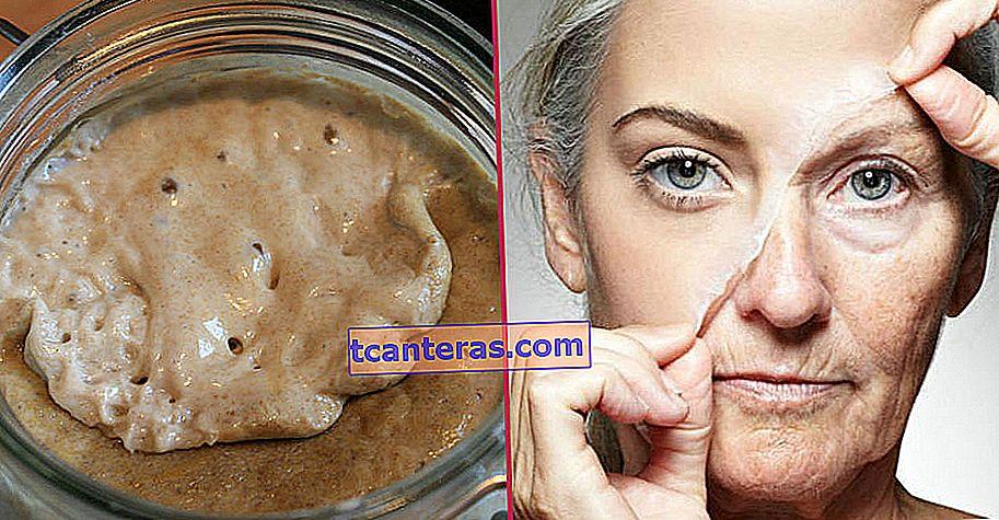 Dile adiós a las arrugas y las imperfecciones: mascarilla de levadura que rejuvenece la piel al menos de 5 años