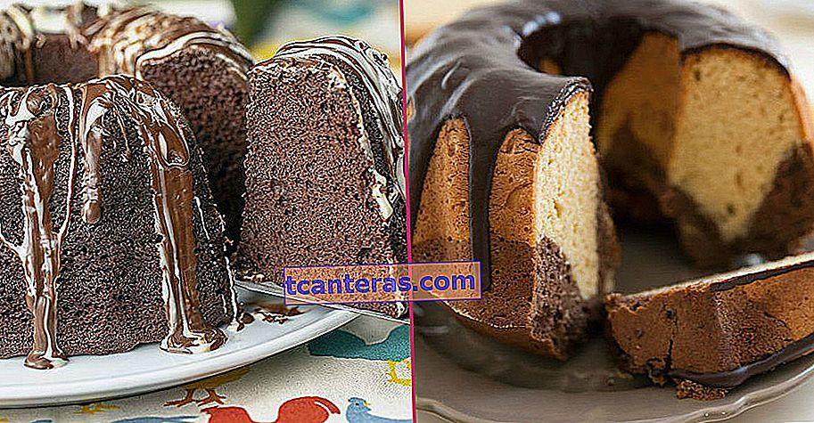 17 recetas de pastel de chocolate donde el chocolate y el pastel combinan poderes y distribuyen la felicidad
