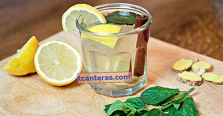 Agua desintoxicante fácil que quema la grasa acumulada en la zona del vientre y purifica el cuerpo