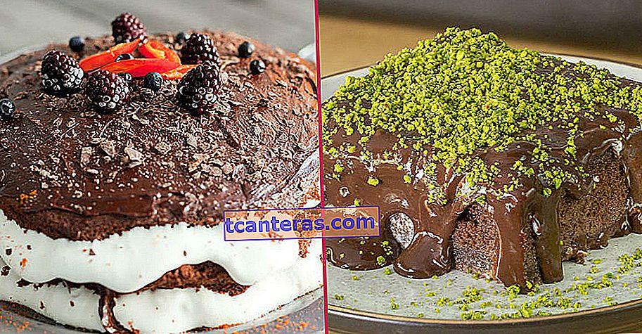 15 recetas de pastel de chocolate suficientes para hacer feliz incluso a una rebanada