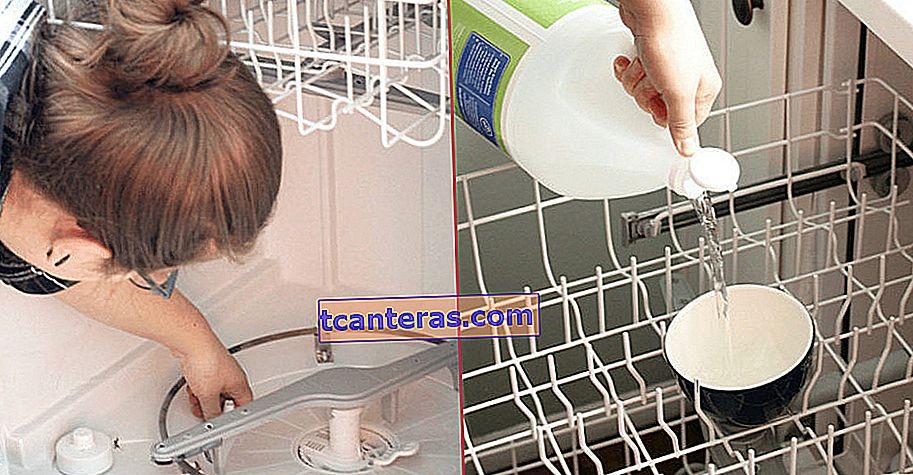 Es así de fácil: Cómo limpiar su lavavajillas en 3 sencillos pasos