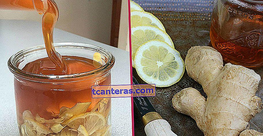 Mezcla legendaria que combate las enfermedades con solo 3 ingredientes: jarabe de jengibre