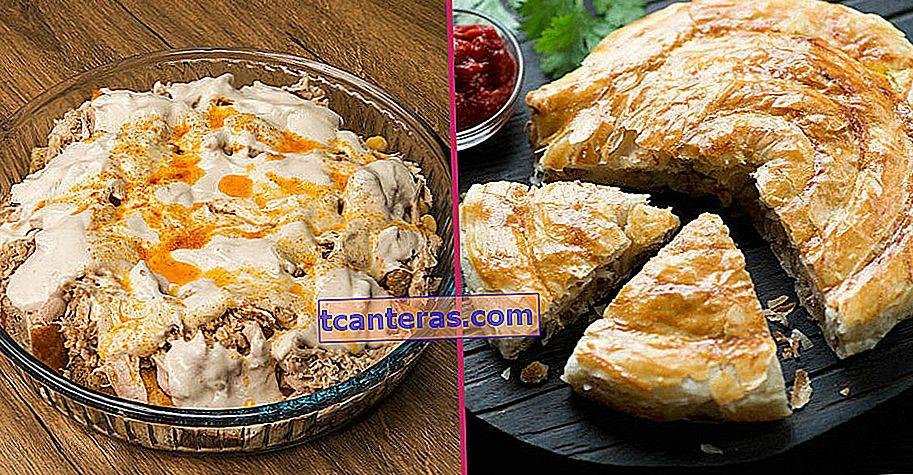 10 recetas diferentes y deliciosas que puede preparar fácilmente con carne de pollo hervida