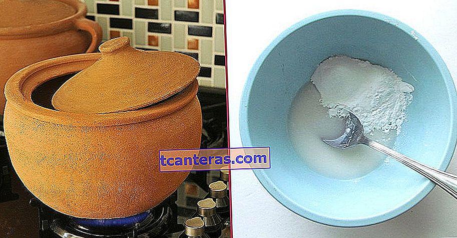 Atención al primer uso: ¿Cómo limpiar fácilmente la cazuela de barro con 2 materiales simples?