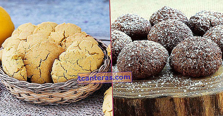 25 recetas prácticas de galletas preparadas en un máximo de 30 minutos y que se convierten en té y café