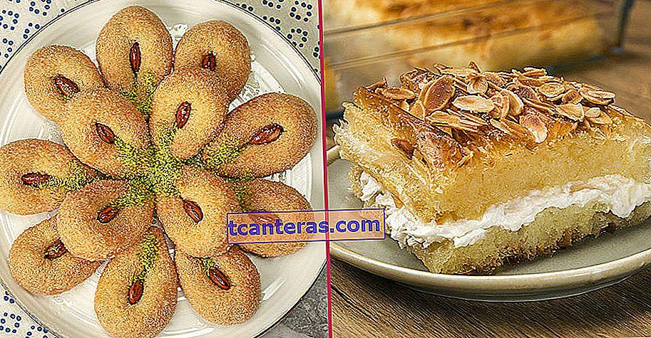 12 prácticos postres navideños que harán que aquellos que comienzan a preparar el Eid se olviden incluso de Baklava