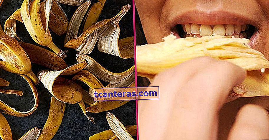 ¿Por qué nunca debería tirar a la basura las cáscaras de plátano?