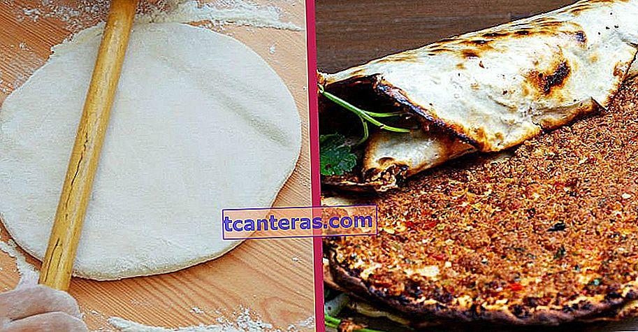 Cocine antes de secar, pruebe en horno de piedra: ¿Cómo hacer masa de Lahmacun?