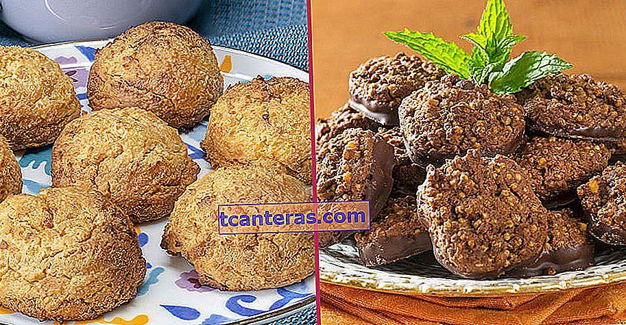 10 recetas de galletas saludables y deliciosas que todos los que prestan atención a su nutrición deben probar