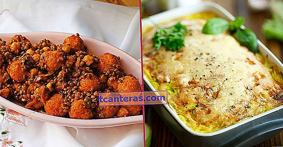 12 recetas principales sin carne que harán deliciosas mesas para aquellos que evitan la carne roja