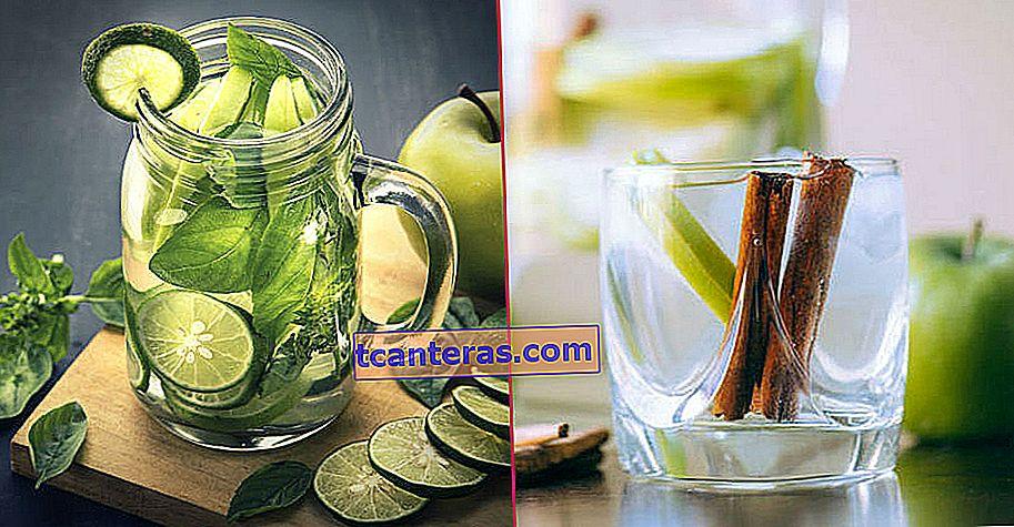 Green Apple Detox, que se dice que pierde 6 libras en un mes al eliminar el edema