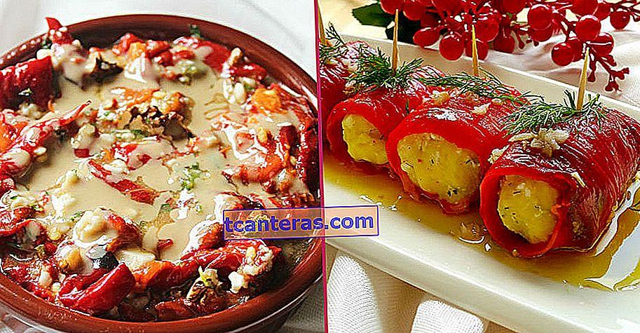 10 recetas de aperitivos de pimiento que te darán hambre incluso si coloreas tu mesa